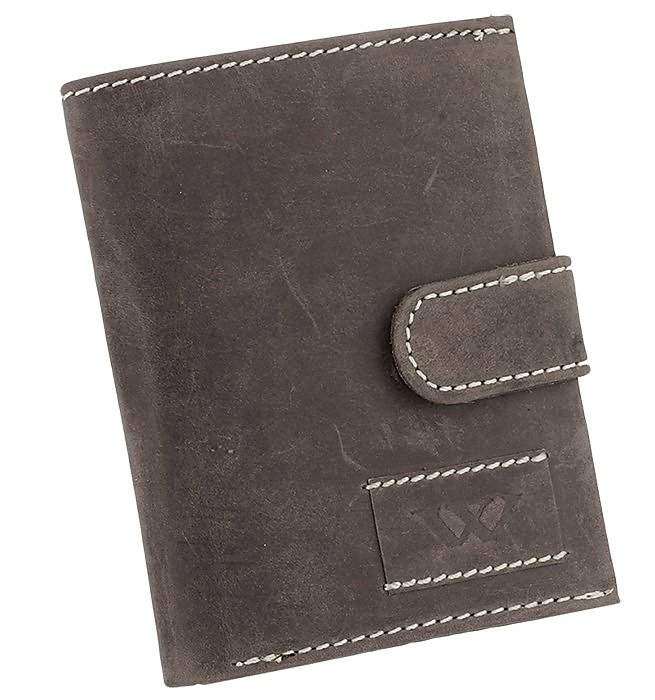 Značková kožená peněženka Always wild hnědá 8N4L WA2-01