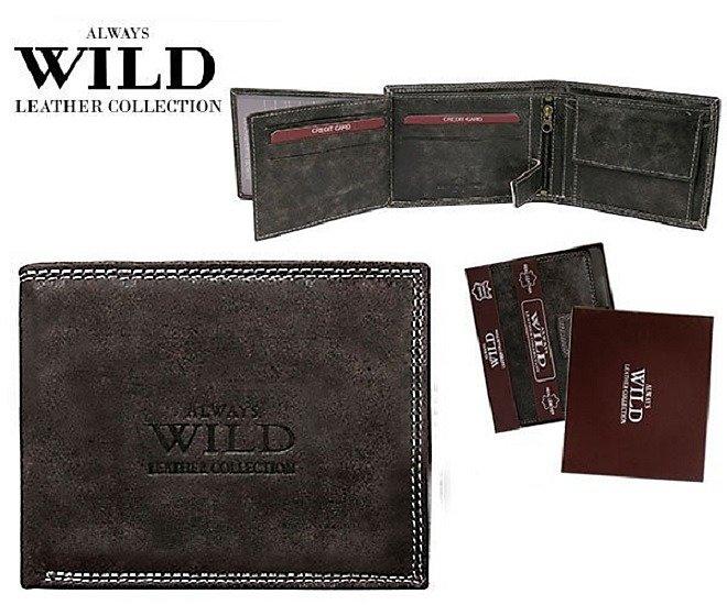 Značková peněženka Always wild černá 8N992-MCR