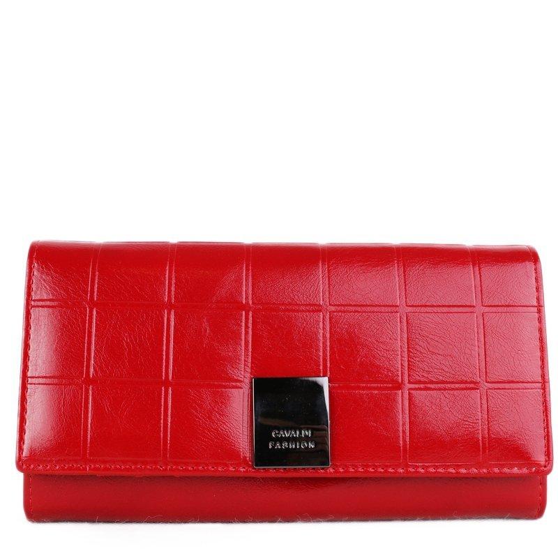 Peněženka z pravé kůže Cavaldi červená P27-3 Red