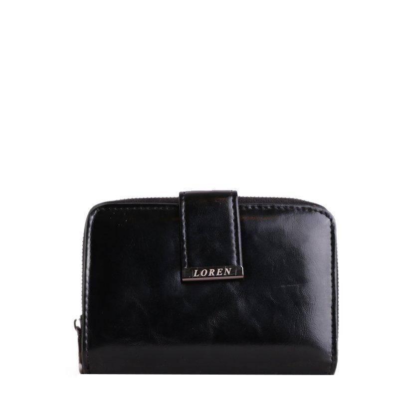 Kožená peněženka Loren černá WP03 Black