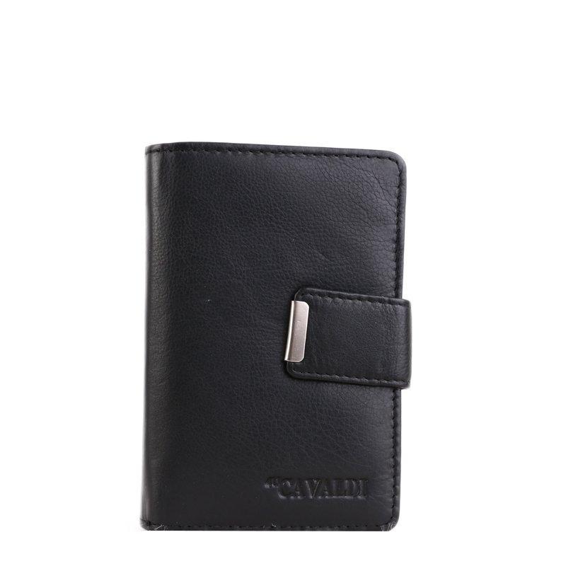 Kožené peněženky Cavaldi N109Black