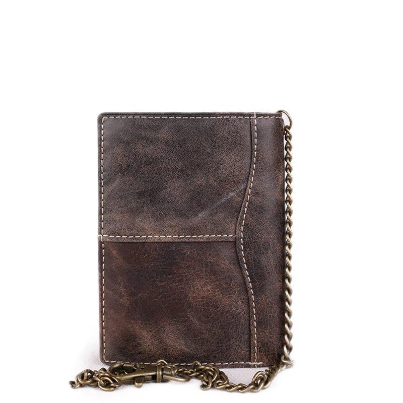 ITALSKÉ Levné černé pánské kožené peněženky VS-8360 Nero