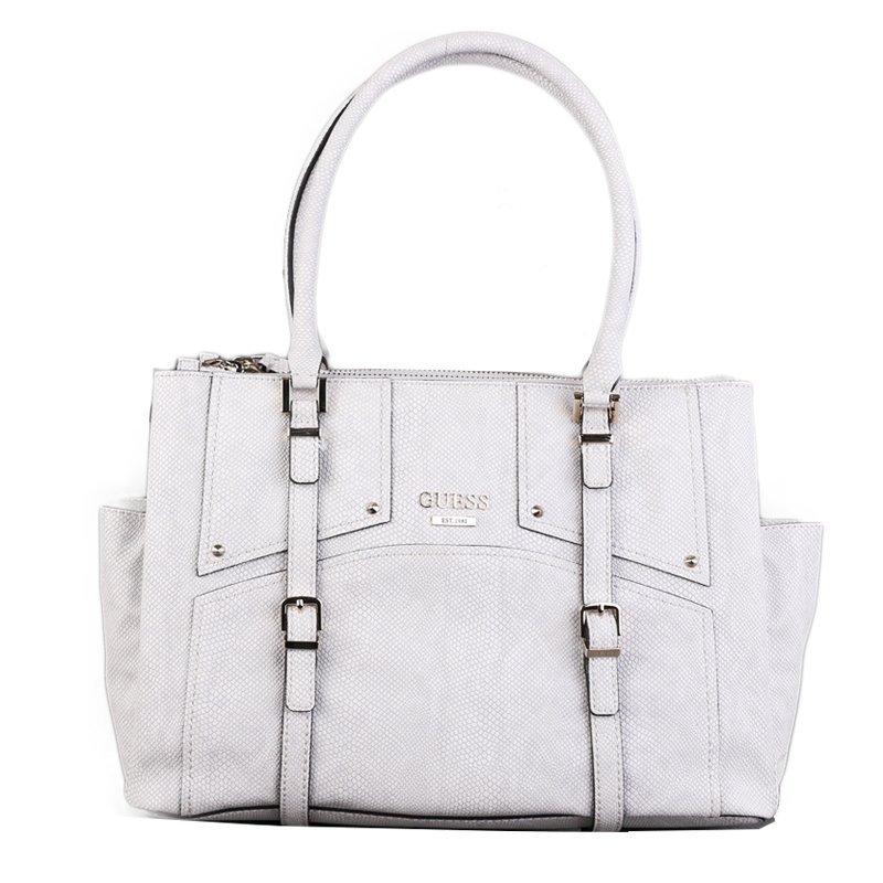 Luxusní značkové kabelky Guess jemně šedé LZ503209