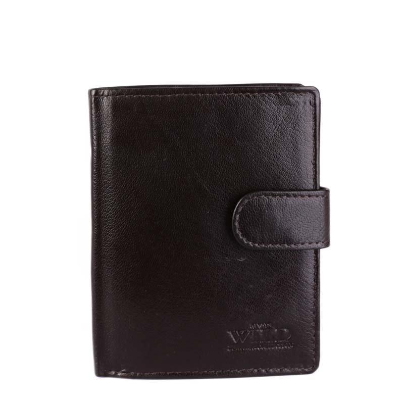 Kožené peněženky levné Always Wild hnědé N4L-GF brown