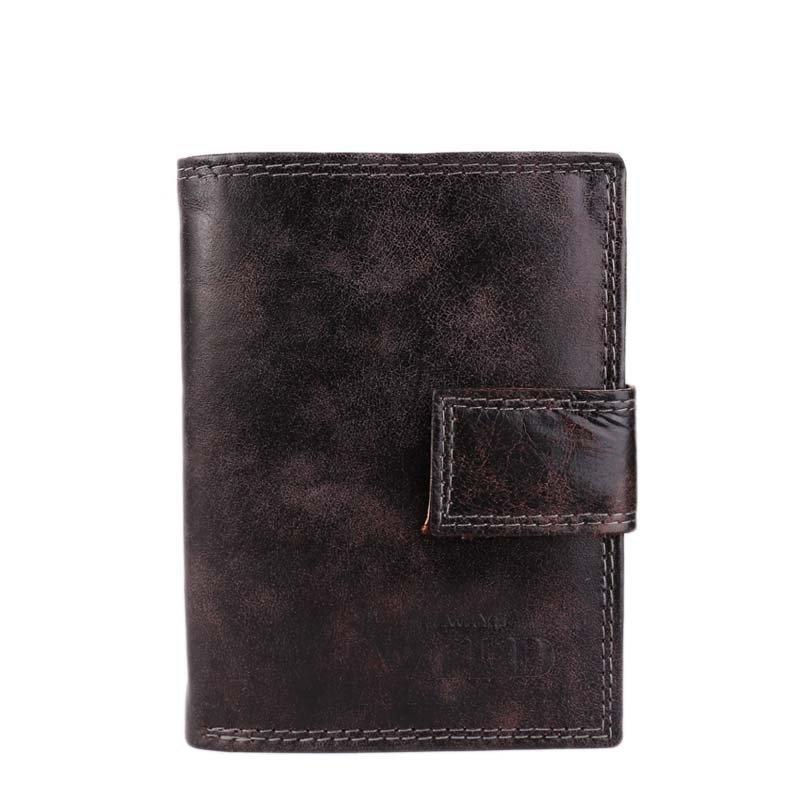 Černé kvalitní kožené peněženky Always Wild N4L-MCR black
