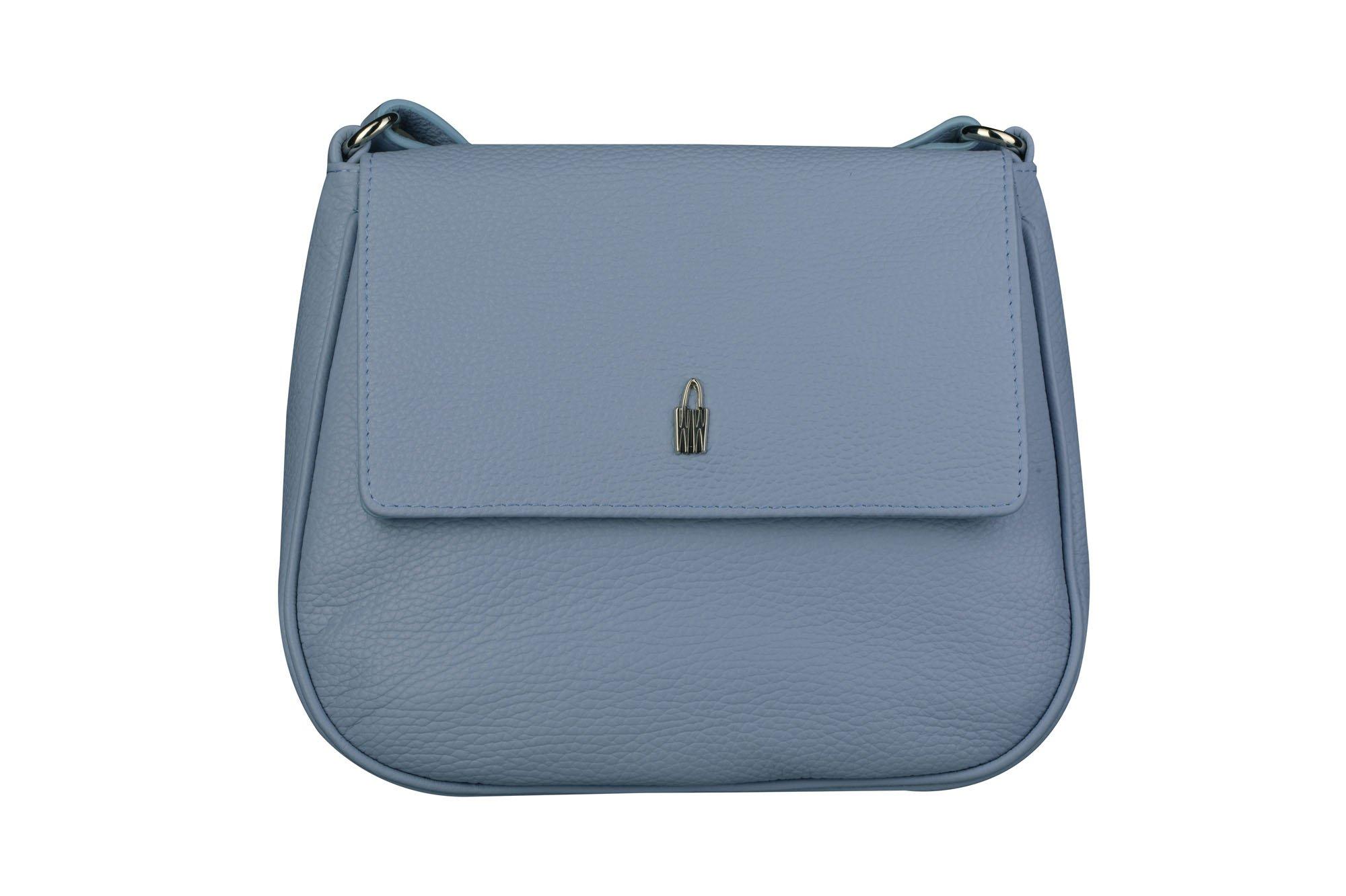 8e819ff759 Luxusní kožené crossbody kabelky Marketa modré 31723 GS47 Wojewodzic