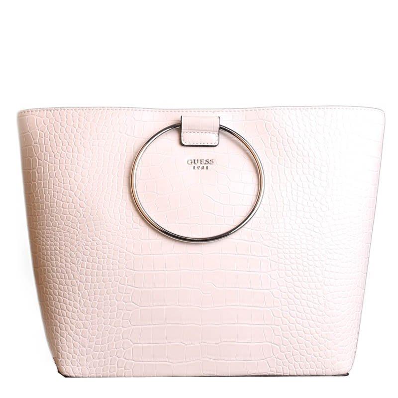 Značková kabelka Guess CR695823 bíle