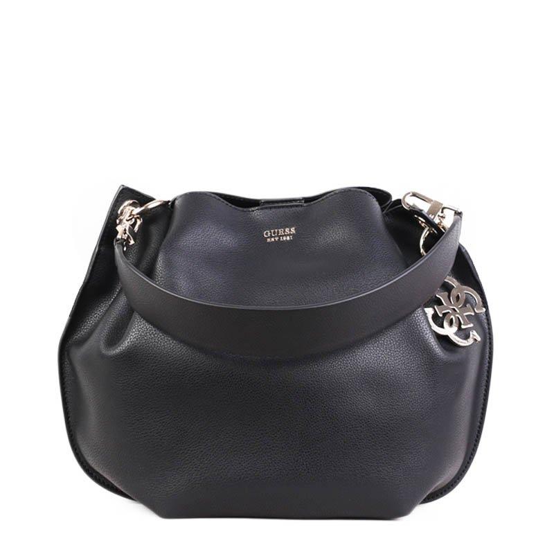 Černá klasická kabelka Guess VG685303