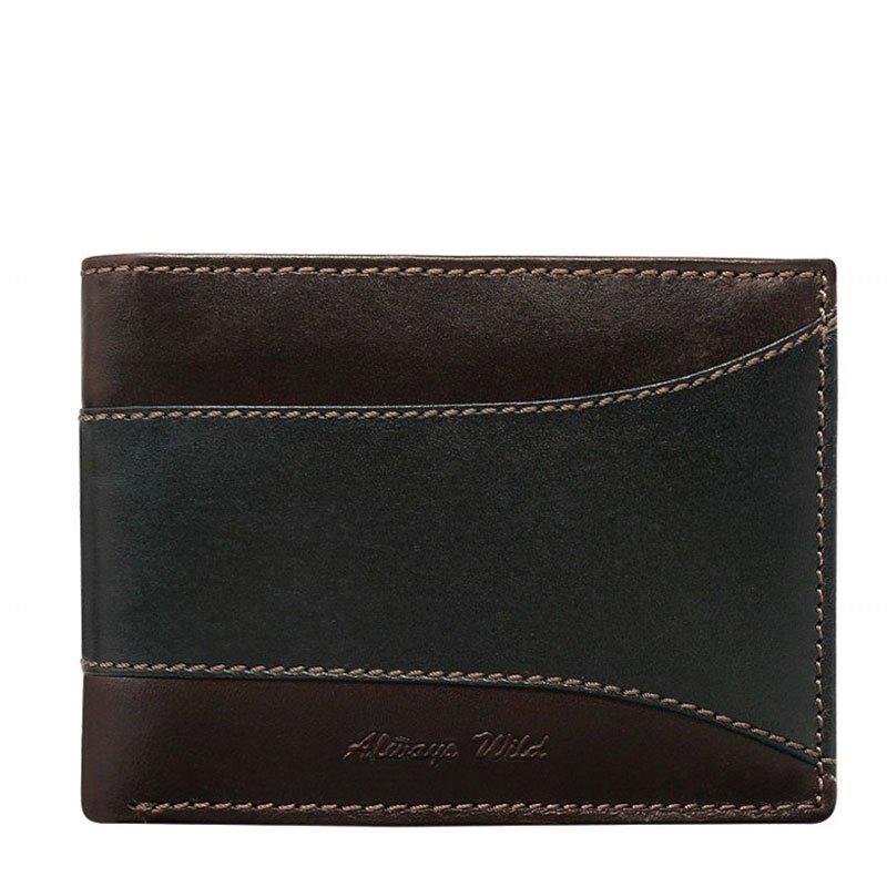 ITALSKÉ Italské pánské kožené peněženky N992-SEL